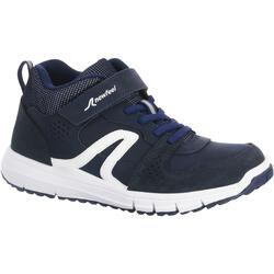 Scarpe camminata bambino PROTECT 560 cuoio blu-bianco