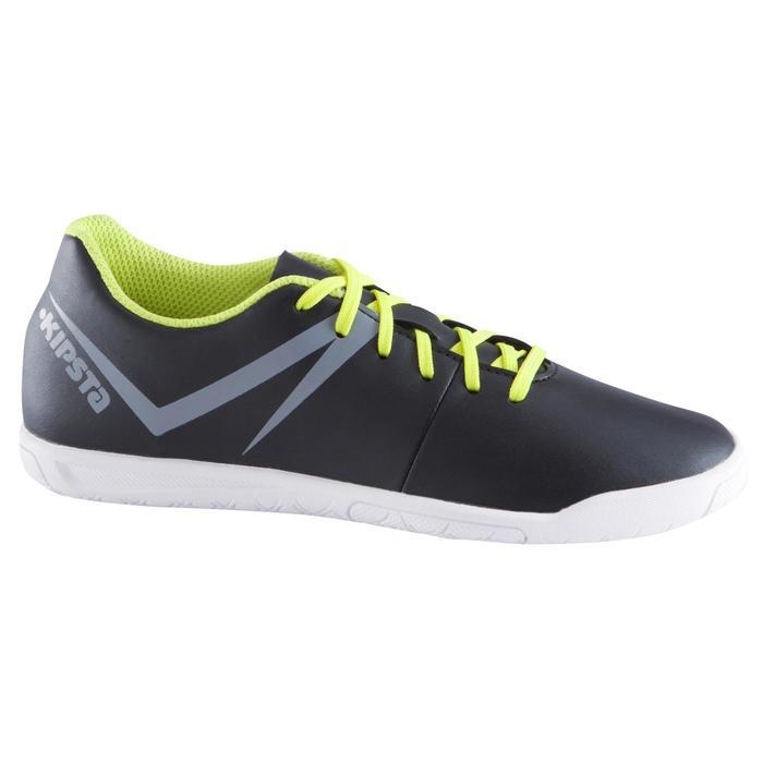 Chaussure de futsal enfant First 100 noire blanche - 939115