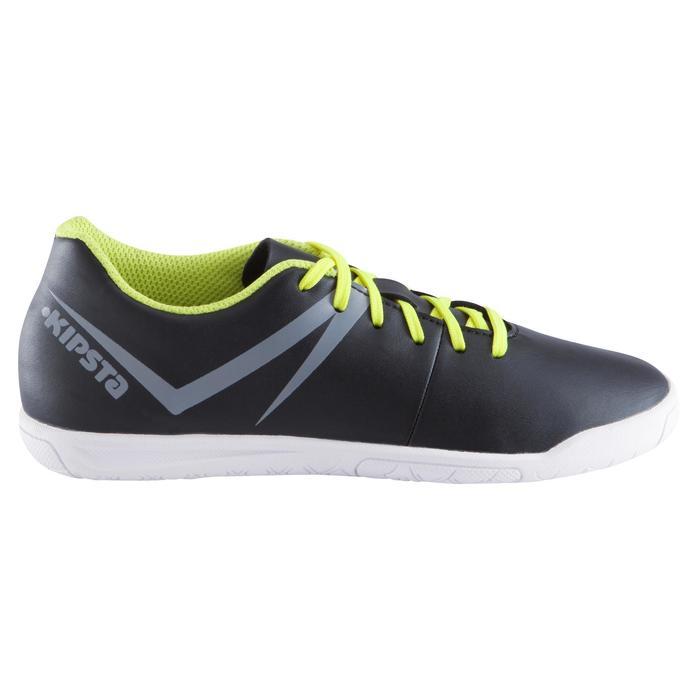 Chaussure de futsal enfant First 100 noire blanche - 939117