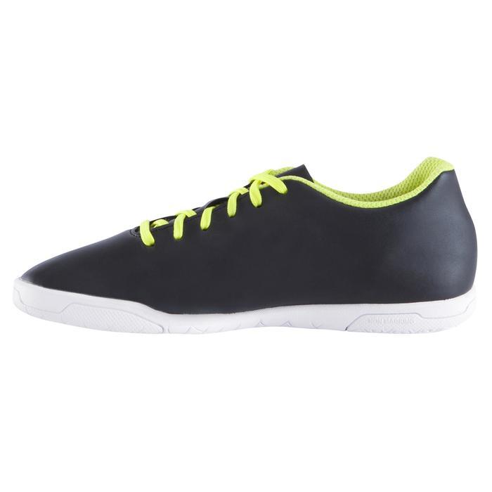 Chaussure de futsal enfant First 100 noire blanche - 939119