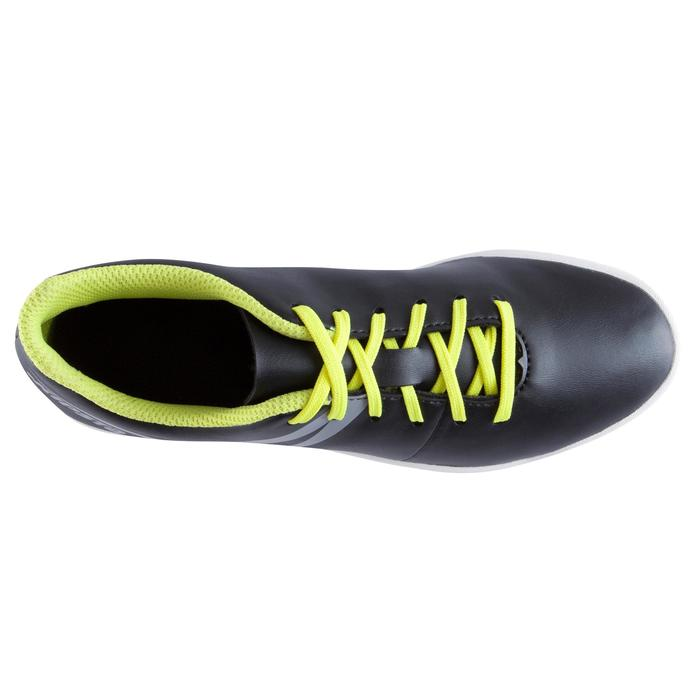 Chaussure de futsal enfant First 100 noire blanche - 939125