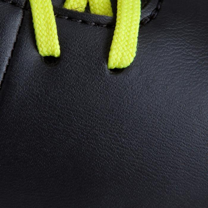 Chaussure de futsal enfant First 100 noire blanche - 939133