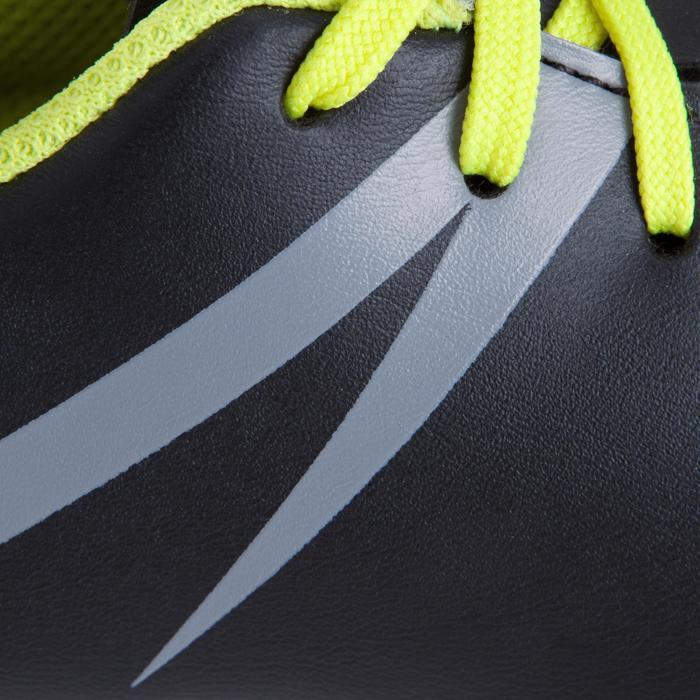 Chaussure de futsal enfant First 100 noire blanche - 939137