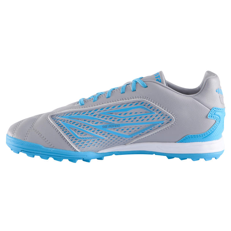 Density 500 HG Kids Hard Ground Football Trainers - Blue Yellow
