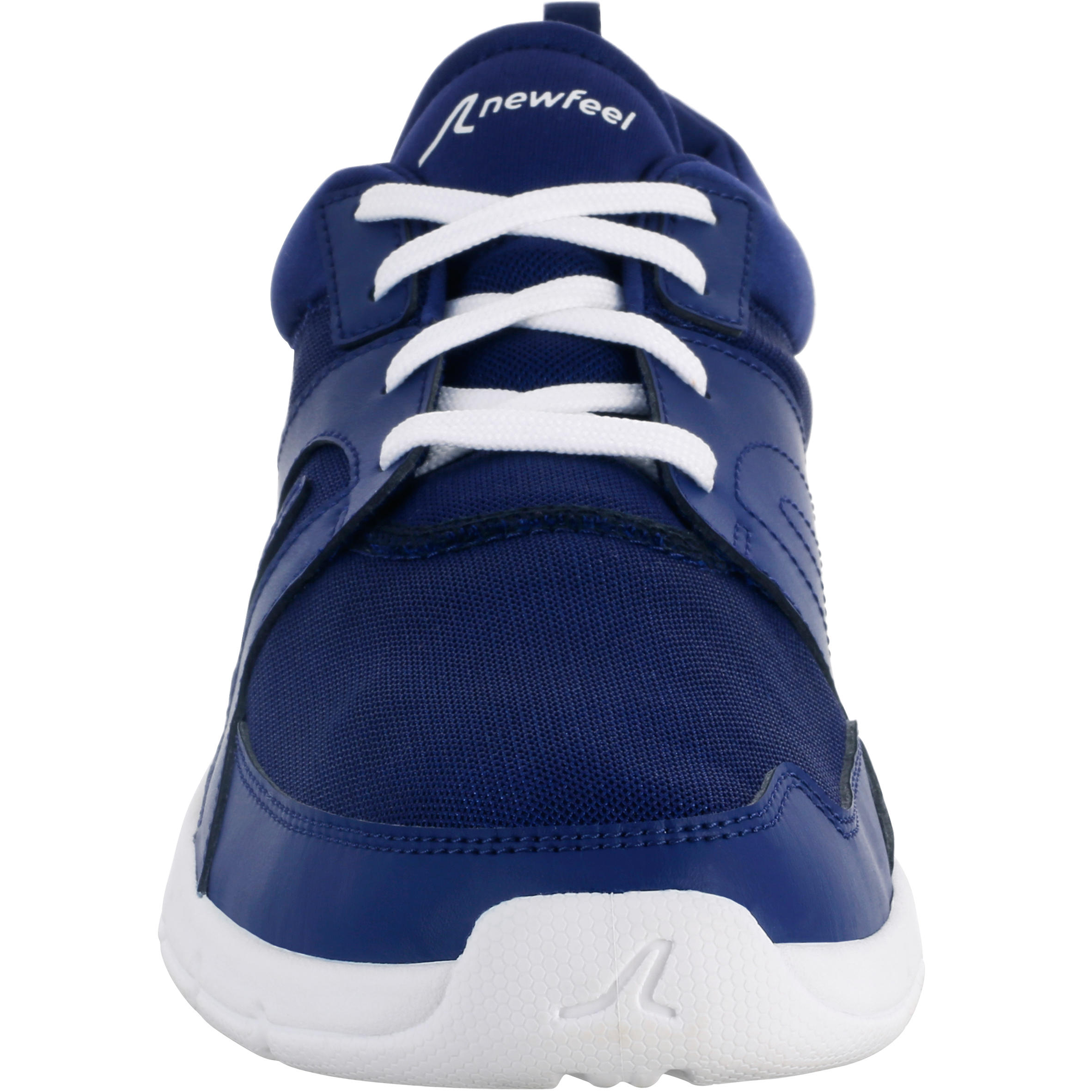 Walking shoes for men soft 100 mesh - Dark blue