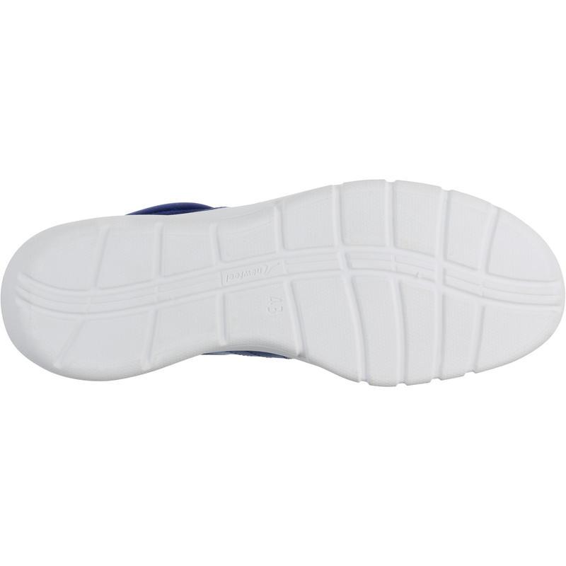 Walking shoes for men soft 100 mesh - Dark blue