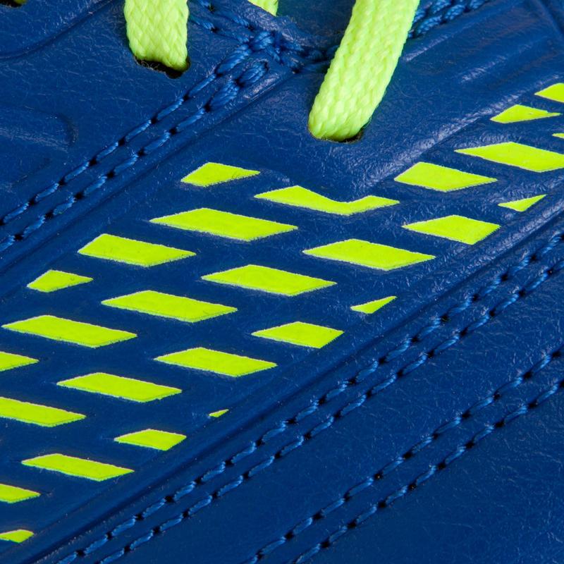 Density 500 HG Kids Hard Ground Football Trainers - Blue Yellow