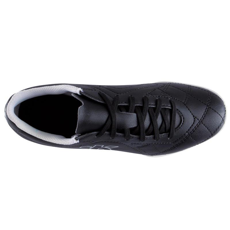 Agility 300 HG Kids Hard Ground Football Boots - Black White