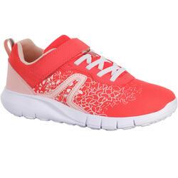 Zapatillas de marcha deportiva para niños Soft 140 rosa/rojo coral