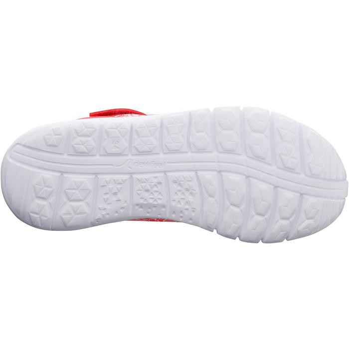Kindersneakers voor wandelen en sport op school Soft 140 roze / koraal
