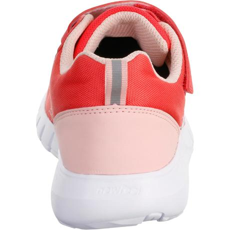 chaussures marche sportive enfant soft 140 rose corail. Black Bedroom Furniture Sets. Home Design Ideas