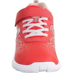 Soft 140 kids' walking shoes pink/coral