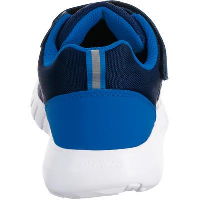 נעלי הליכת כושר לילדים Protect 140 - כחול צי/לבן