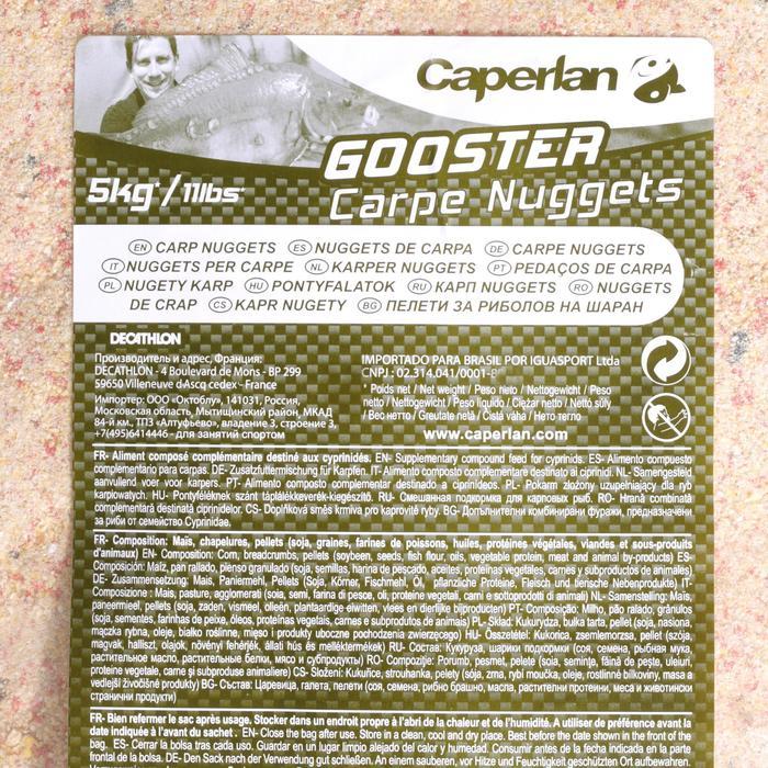Cebo de pesca de la carpa GOOSTER NUGGETS 5 Kg