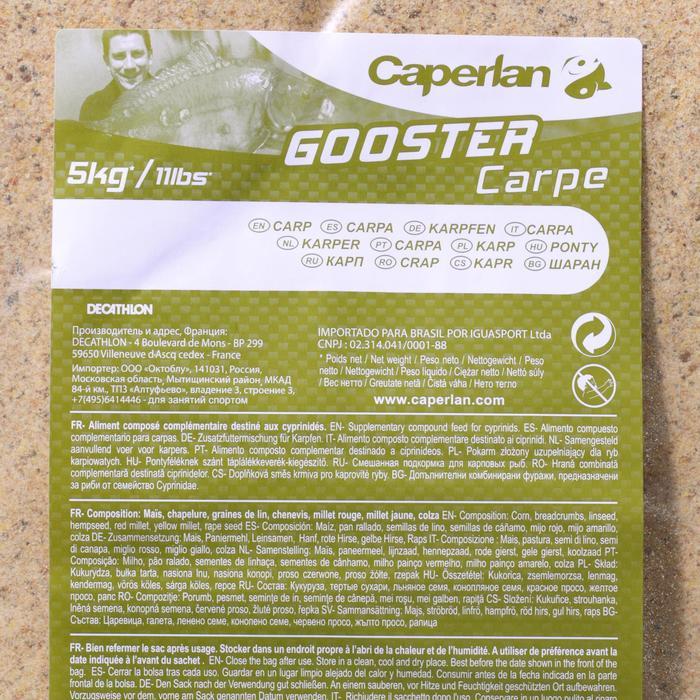 Cebo de pesca GOOSTER CARPA 5 kg