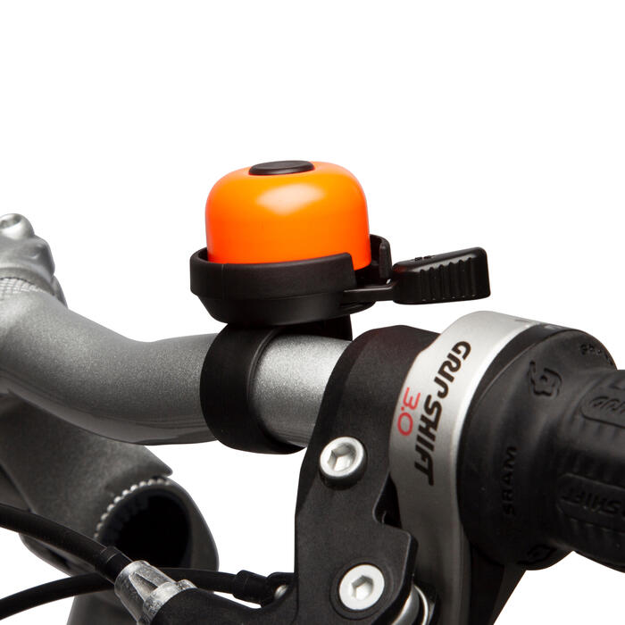 100 Bike Bell - Black - 9403