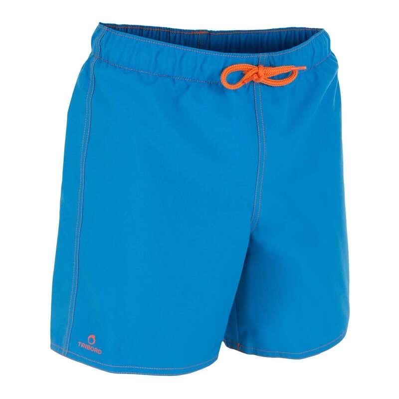 BOY'S BOARDSHORTS Swimwear and Beachwear - Hendaia Tween - Blue OLAIAN - Swimwear and Beachwear