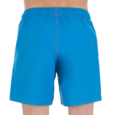 Hendaia Boys' Short Boardshorts - Prems Blue