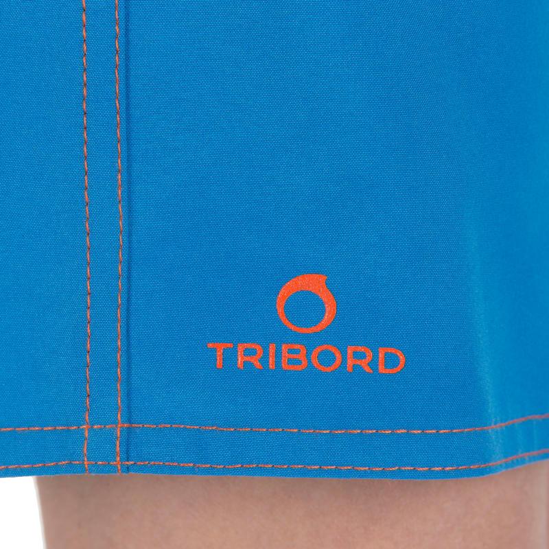 Hendaia Boys' Short Boardshorts - Prems Blue