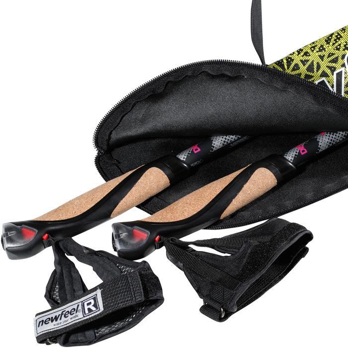 Tas voor nordic walking stokken NW B500 zwart