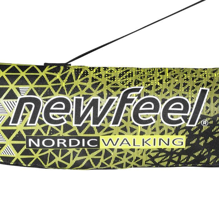 Sac à bâtons marche nordique NW B500 noir / jaune