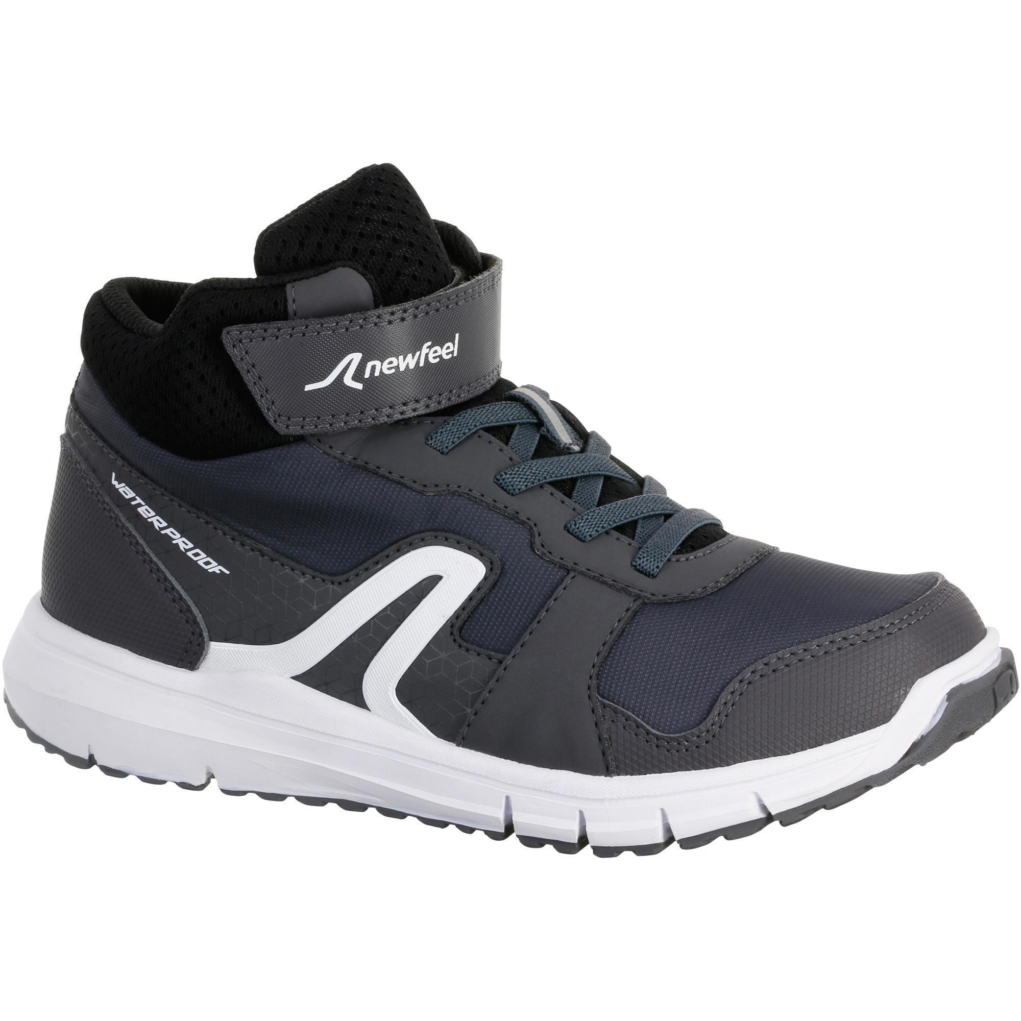 Protect 580 Kids' Walking Waterproof Shoes grey/white