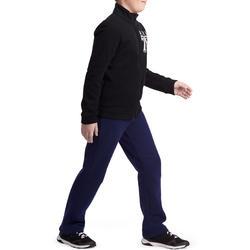Warme jogging met print Warm'y jongens rits - 941164