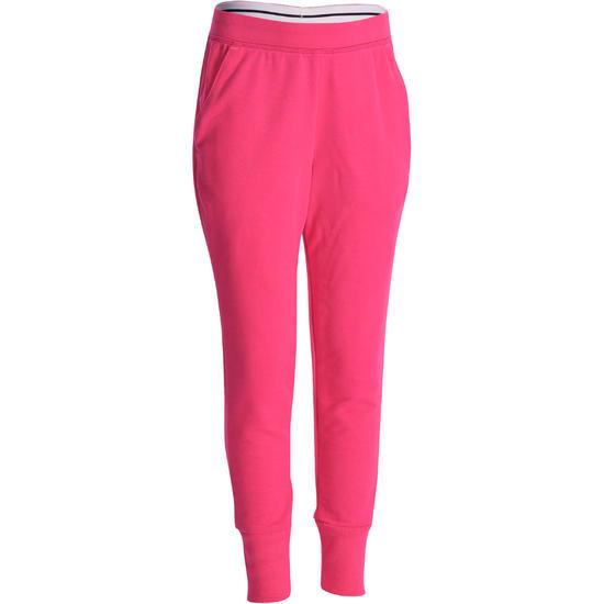 Warme gym broek voor meisjes, slim fit - 941180