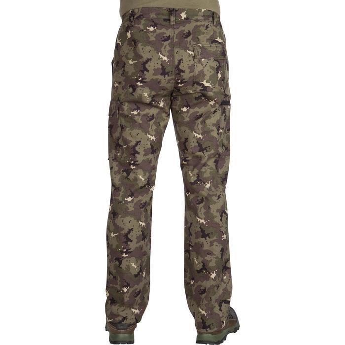 Pantalón de caza STEPPE 300 Island verde