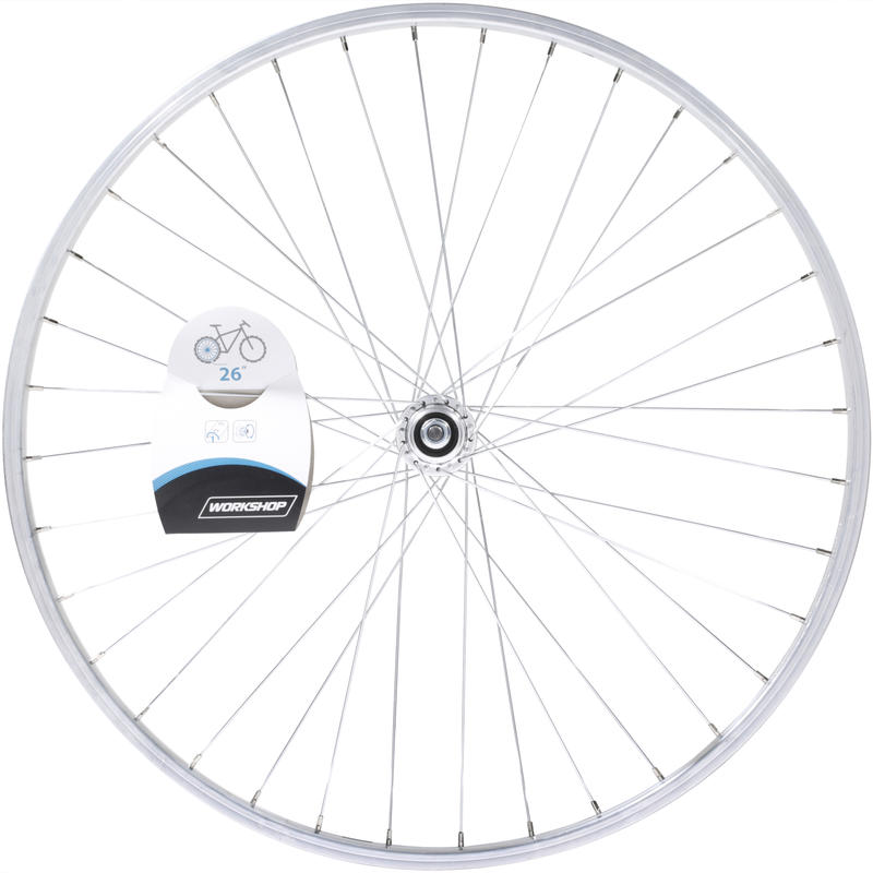 26_QUOTE_ MTB Rear Wheel - Silver