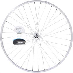 "RUEDA BTT 26"" PLATEADA TRASERA PARED SIMPLE ROSCA"