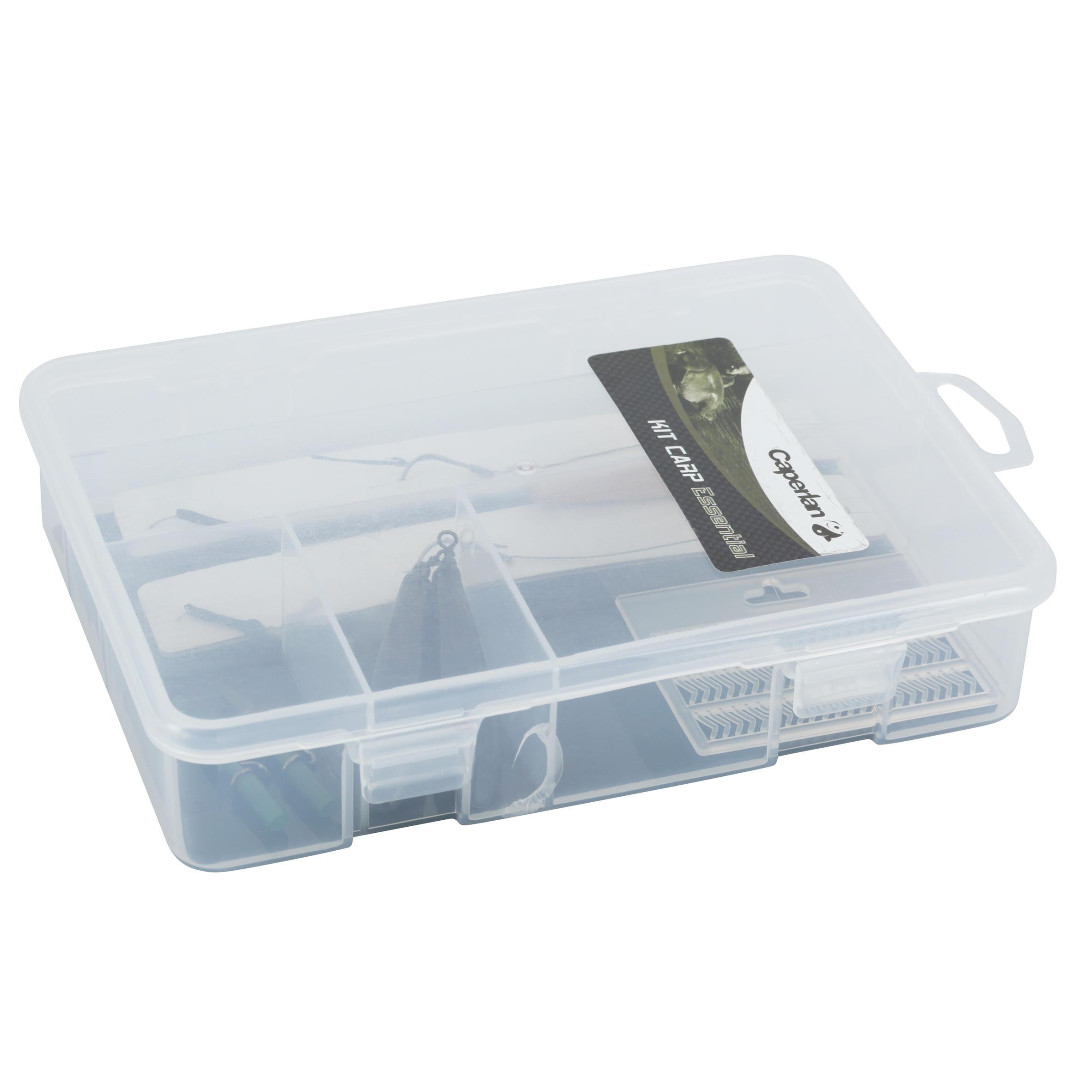Essential carp fishing kit