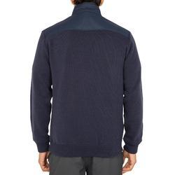 Jersey cálido de vela hombre SAILING 100 Azul marino.
