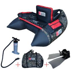 FLOAT TUBE DE PESCA/ACCESORIOS PACK FLOAT TUBE NRV CAMO