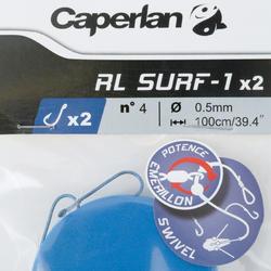 RL SURF-1 2xH4 x2 surfcasting leader