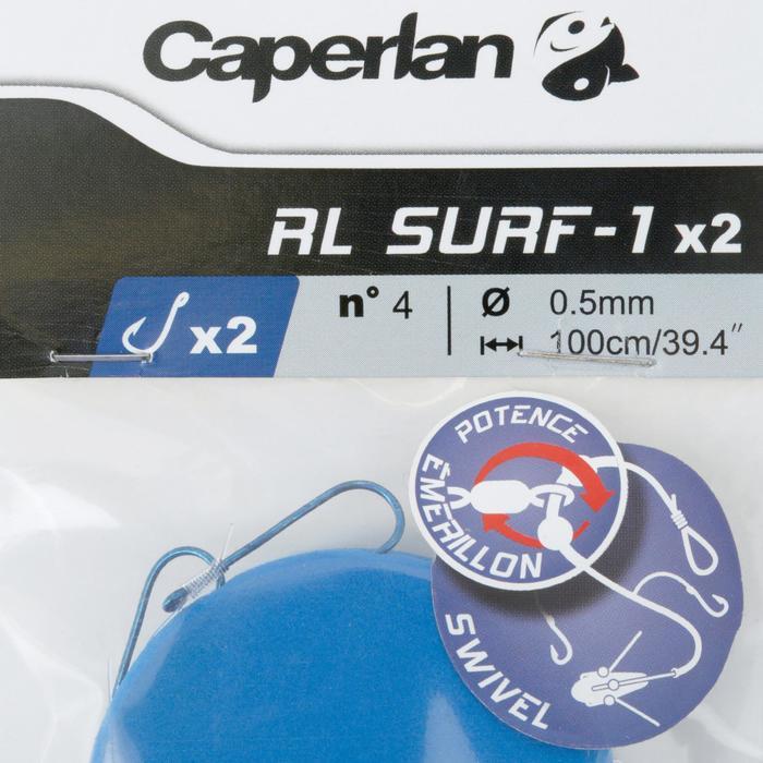 BAJO DE LÍNEA PESCA RL SURF-1 2 x A4 x 2