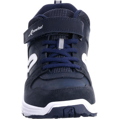 Protect 560 kids' walking shoes leather navy/white