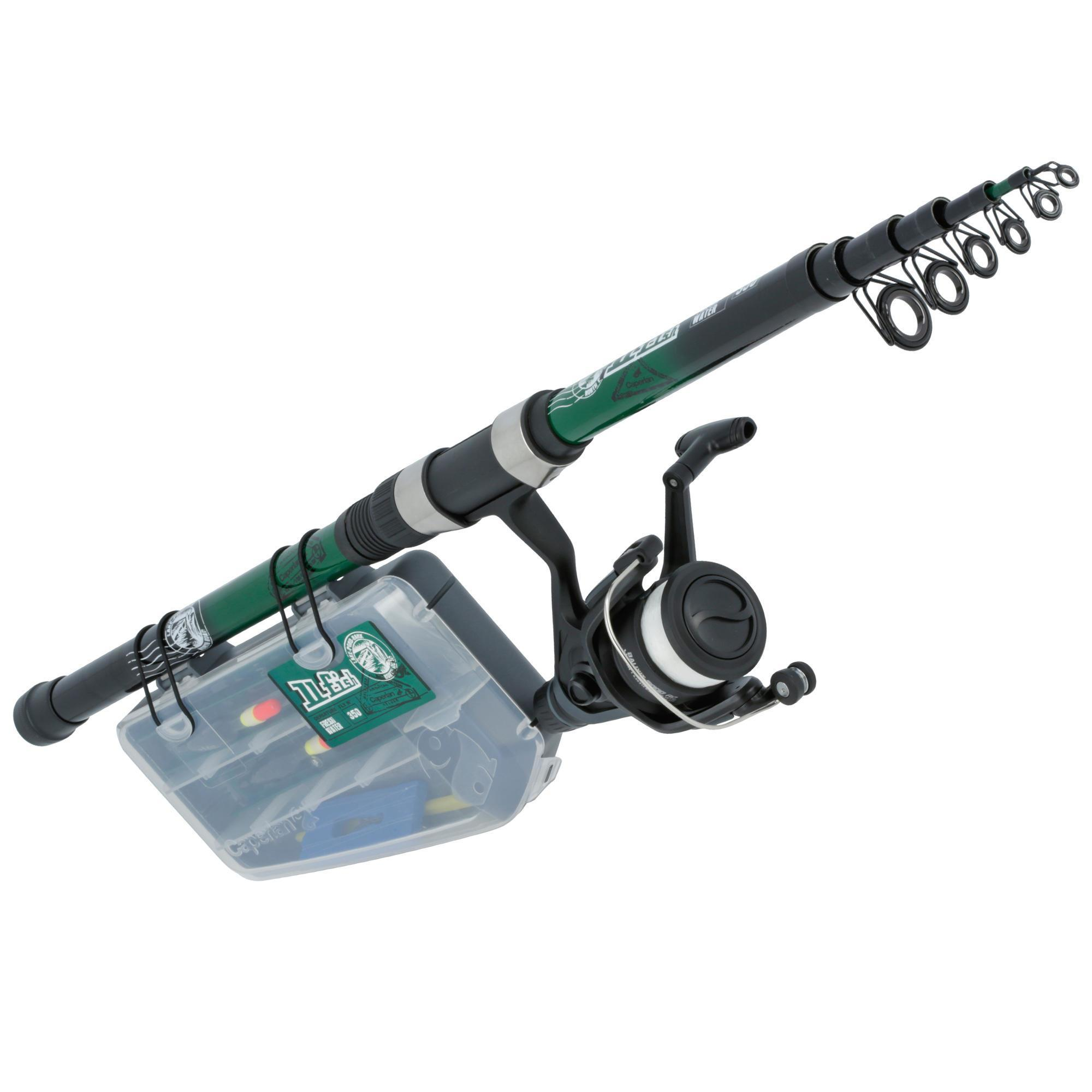 Caperlan Kennismakingsset hengelsport Ufish Freshwater 350 New