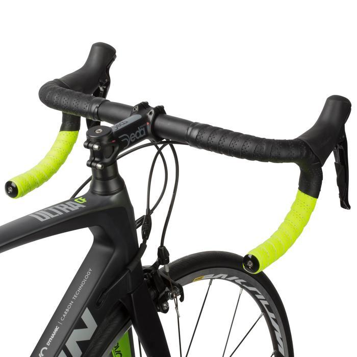Rennrad-Lenkerband schwarz/gelb