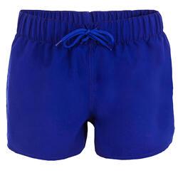 Boardshort dames Tana, effen met een elastische taille - 943544