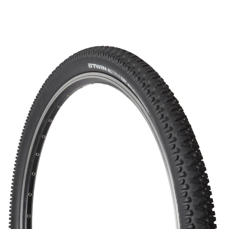 "DRY1 26x2,00 kalnu velosipēdu riepa ar cietu bortu ""ETRTO 50-559"""