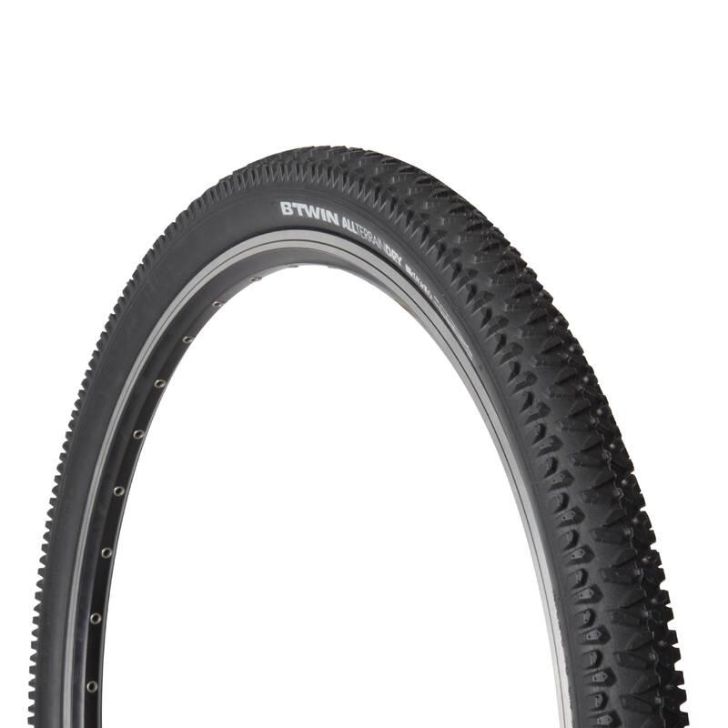 PLÁŠTĚ HORSKÉ Cyklistika - PLÁŠŤ NA MTB DRY 1 26 × 2,00 BTWIN - Náhradní díly a údržba kola