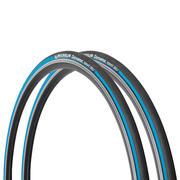 Par modrih pnevmatik Dynamic Sport 700 x 23 s togim profilom / ETRTO 23-622
