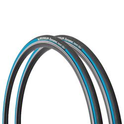 Buitenband racefiets, set van 2 Dynamic Sport blauw draadbanden 700x23 23-622