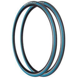 Bandenset race Dynamic Sport blauw draadband 700x23 23-622 - 943635