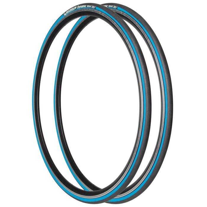 Bandenset race Dynamic Sport blauw draadband 700x23 23-622