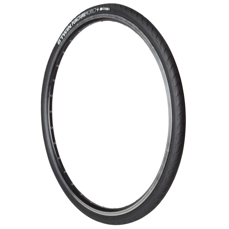 Protect+ Slick 26x1.2 Flex Bead Mountain Bike Tyre / ETRTO 30-559