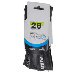 Buitenband mountainbike Slick 26x1.2 Puncture protect+ vouwband / ETRTO 30-559