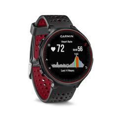 Reloj GPS Pulsómetro En Muñeca Running Garmin Forerunner 235 HRM NegroRojo