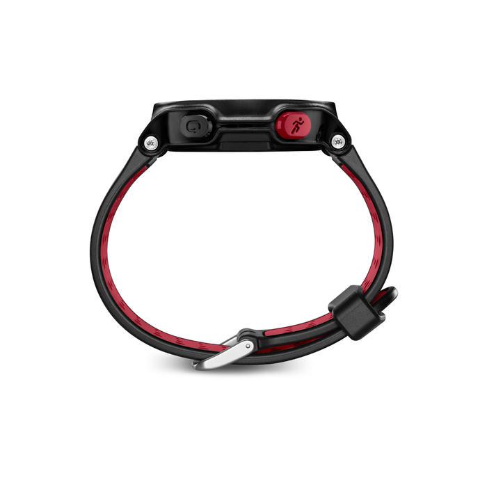 Gps-hardloophorloge met polshartslagmeting Forerunner 235 HRM zwart/rood
